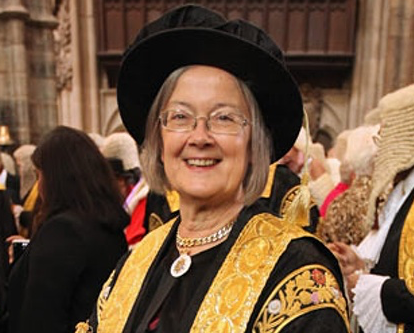 The Right Honourable The Baroness Hale of Richmond DBE PC QC FBA