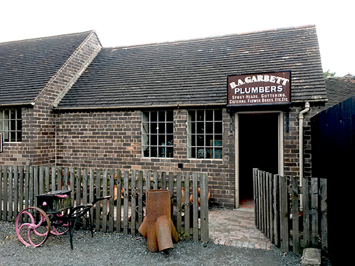 Plumber's Workshop, Blists Hill