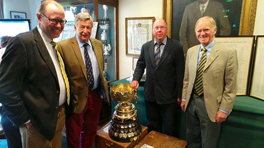 David Hannam, Anthony Lowe, Richard Harvey and Graham Setterfield