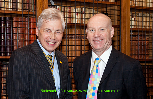 the Master and Prof Jamie Bartram