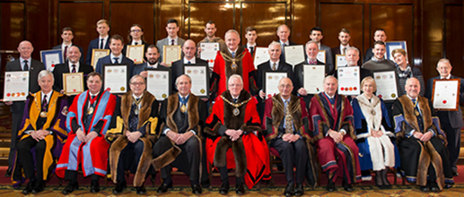 The Lord Mayor, Masters of participating Livery Companies and the awardees