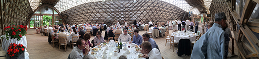 Lunch in The Gridshell