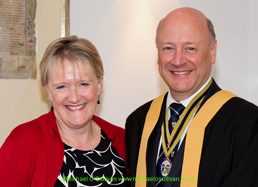 Liveryman Paul Nash and his wife, Sue.