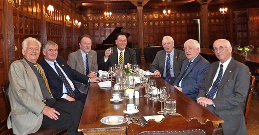Terry Wells, the IPM, John Carnaby, Ian Puddick, David Attwood, Peter Brown, Ken Newnham